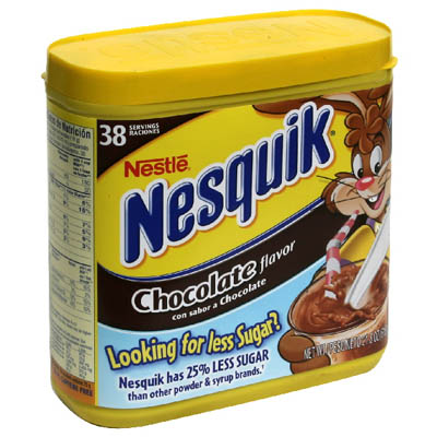 Nestle Nesquik hot chocolate