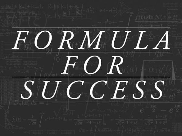 Secret Formula For Success