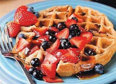 multigrain-blueberry-waffles