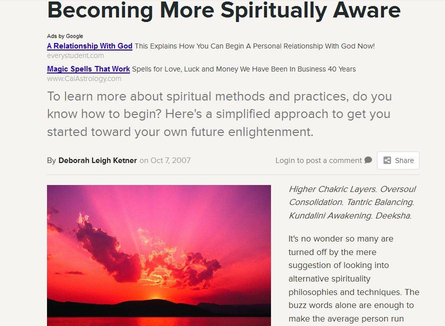 spiritually-aware