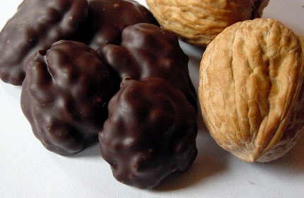 Image result for walnuts dark chocolate