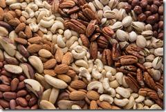 Almonds, Peanuts, Walnuts, Hazelnuts, Pistachios, Cashews