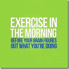 Exercise in Morning