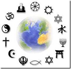 Religiões diferentes