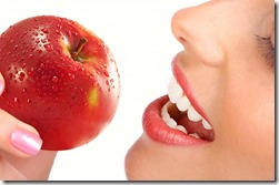 An Apple Cleans The Teeth