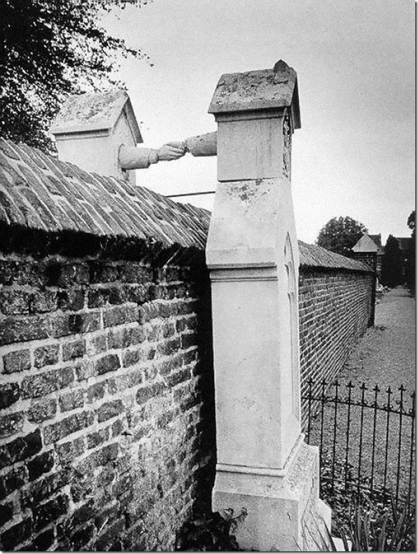 The Graves of a Catholic woman and her Protestant husband, Holland, 1888