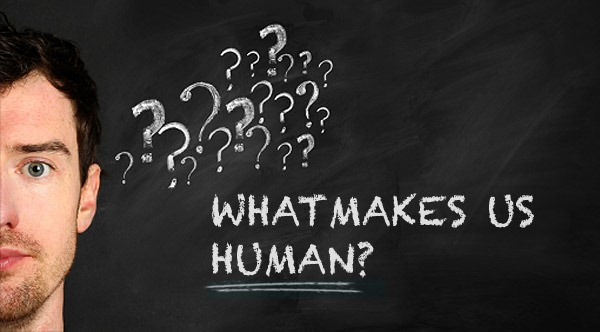 what makes us human essay Human dna is 98% identical to that of chimpanzee dna, but that 2% makes a qualitative difference more importantly, one cannot explain the qualities of humans – either as individuals or as a species – by simply comparing their genes against those of our ancestors.