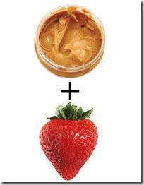 Peanut Butter and Strawberries