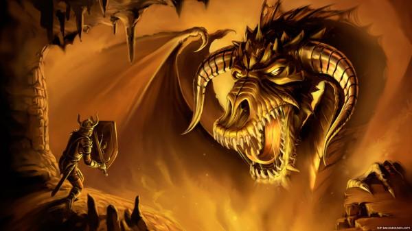 Dragon and Dragon rider