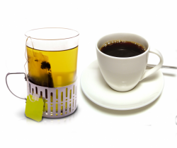 Drink Green Tea and Black Coffee make each day your masterpiece