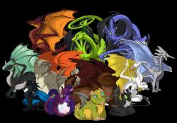 Variety of Dragons