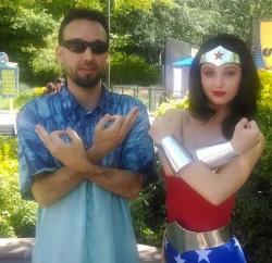 Davin Infinity with Wonder Woman