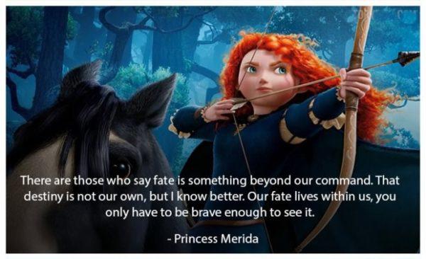 Brave Disney Quotes