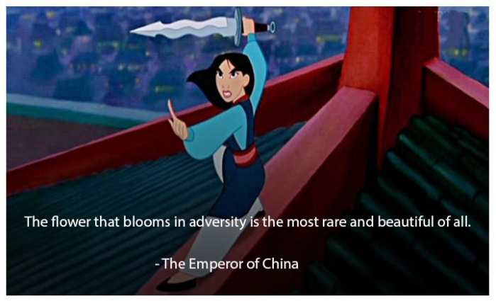 mulan disney quotes life coach code