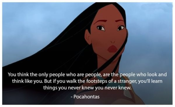 Pocahontas Disney Quotes