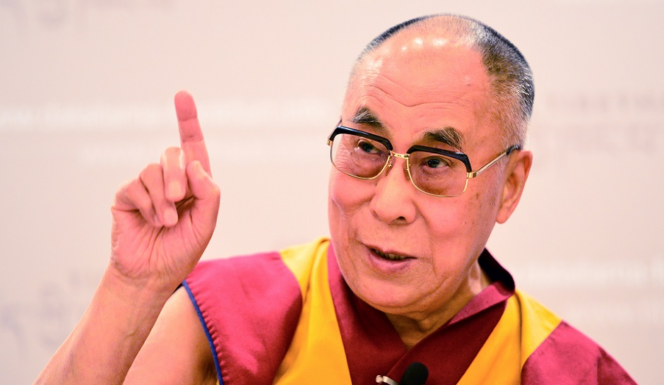 Dalai Lama says ACTION not PRAYING will help us