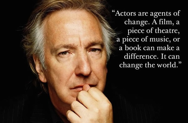 6 POWERFUL Quotes By Alan Rickman To Remember THE LEGEND