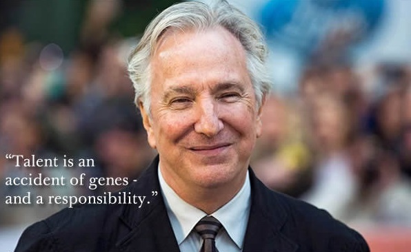 6 Quotes by Alan Rickman to Remember The Man that He was and THE LEGEND He will Remain... Always! (2)