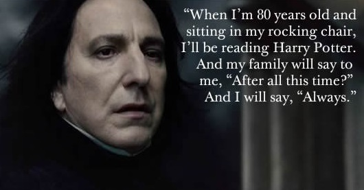 6 Quotes by Alan Rickman to Remember The Man that He was and THE LEGEND He will Remain... Always! (6)
