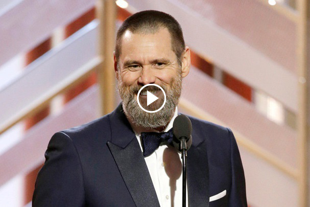 Jim Carrey Makes Fun of The Whole EGO Driven System