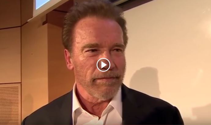 How Arnold Schwarzenegger Suggests for People to Stop Eating Meat
