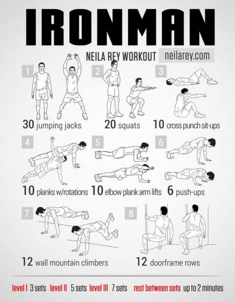 9 EXTRAORDINARY Exercises - Ironman