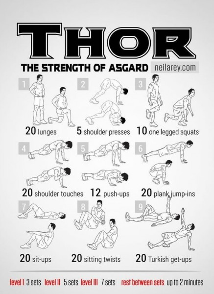 9 EXTRAORDINARY Exercises - Thor