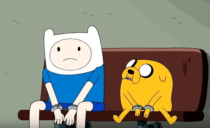 Adventure Time sumes up how the world functions