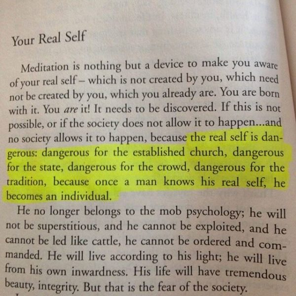 Quotes About THE SELF