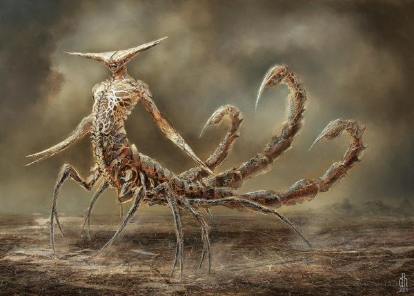 The Scorpio Monster