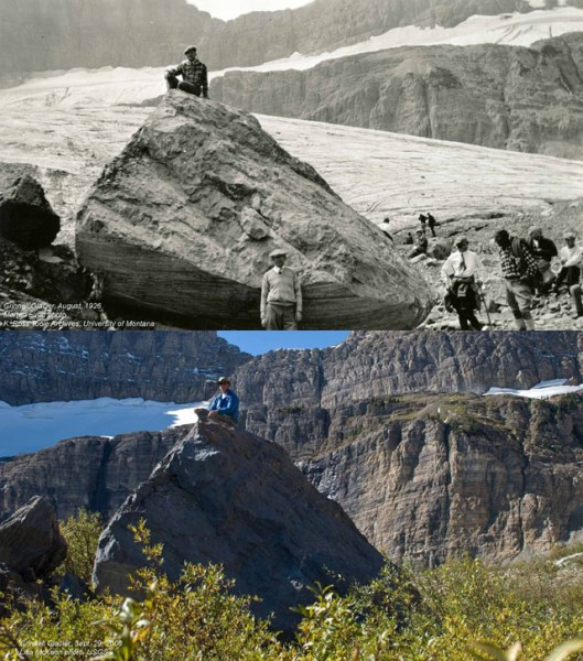 10 Terrifying Before And After Photos of Mother Earth Global Warming Deniers 10