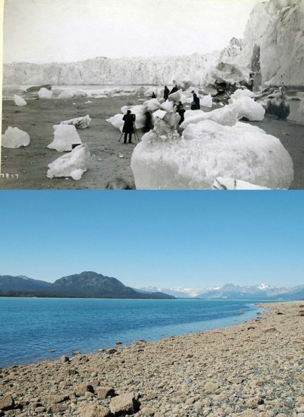 10 Terrifying Before And After Photos of Mother Earth Global Warming Deniers 7