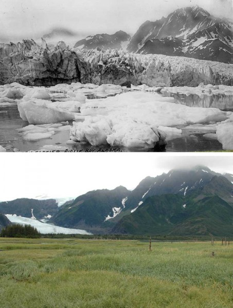 10 Terrifying Before And After Photos of Mother Earth Global Warming Deniers 9