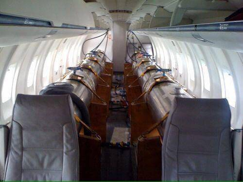 EXPOSED Photos From INSIDE Chemtrail Planes 10