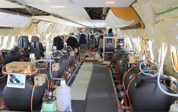 EXPOSED Photos From INSIDE Chemtrail Planes 23