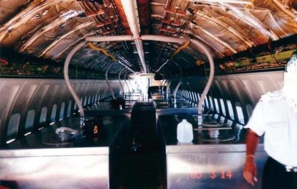 EXPOSED Photos From INSIDE Chemtrail Planes 28