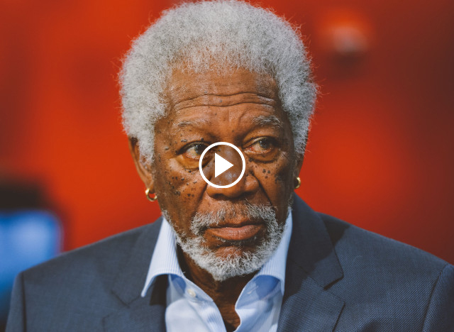 Morgan Freeman Solves Racism