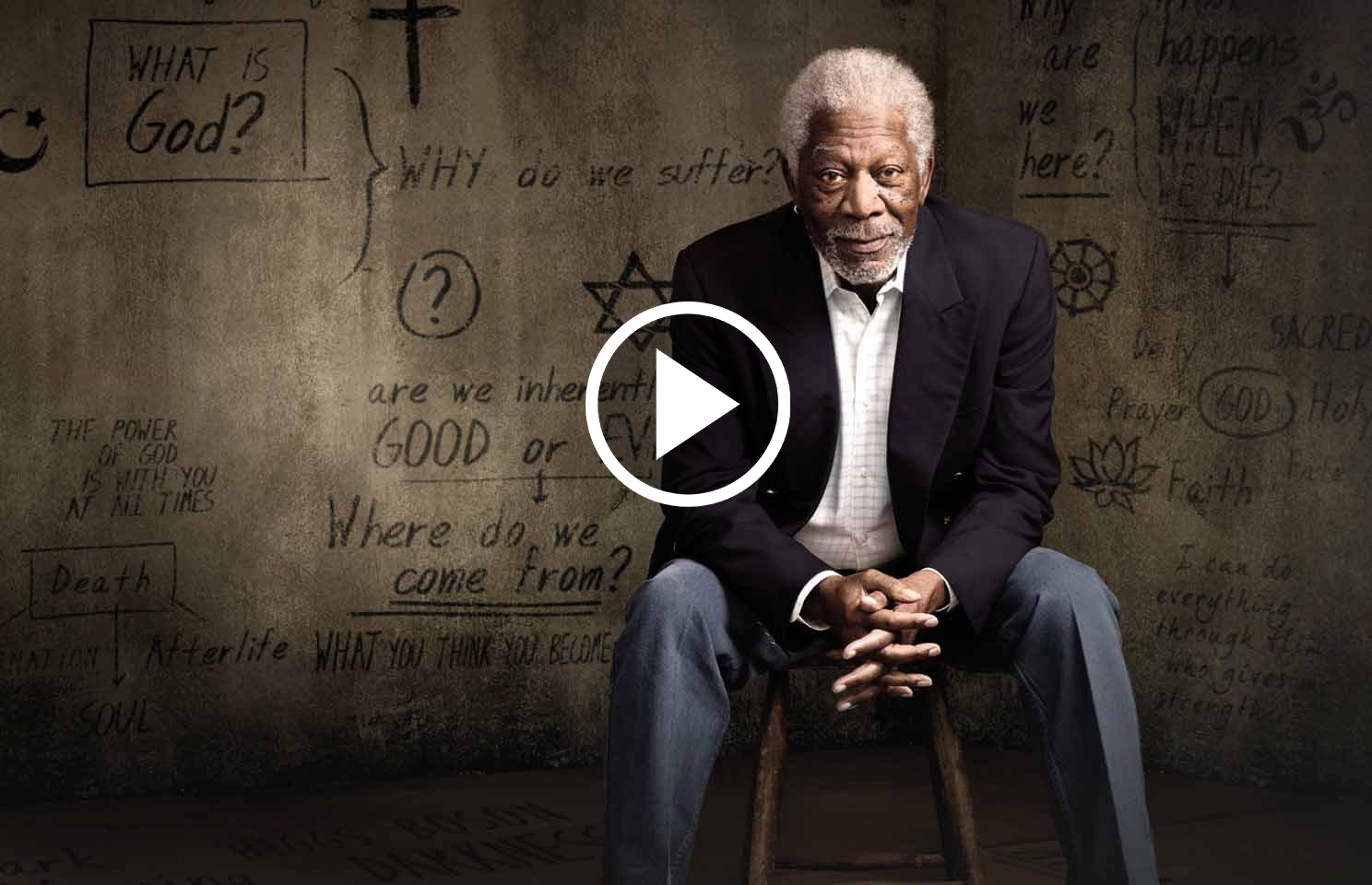 Morgan Freeman is Currently On A Quest to Uncover The Greatest Secret of The World