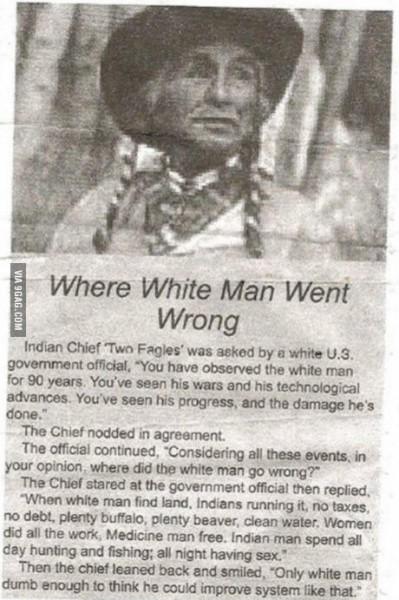 Where White Men Went Wrong