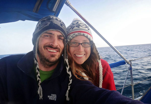 Couple Sells Everything to Live On A Bout and Travel The World 1