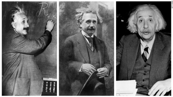 Albert Einstein Wears The Same Clothes