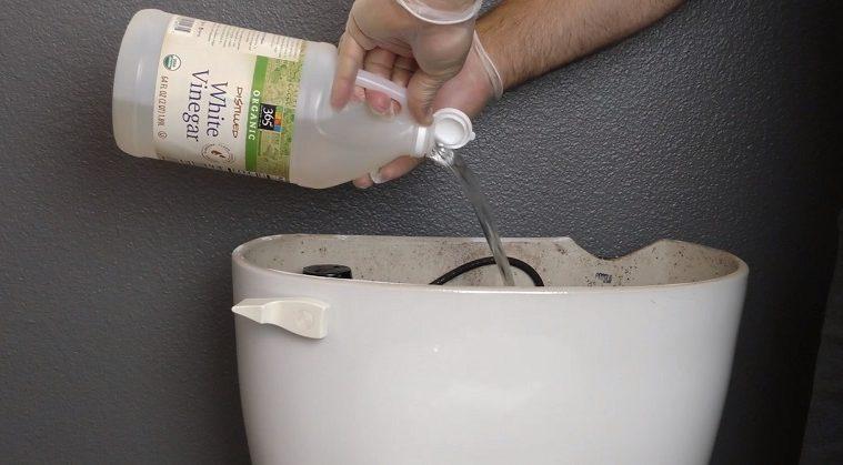 Vinegar In Toilet Tank GENIUS