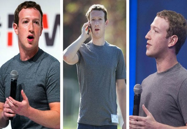 Mark Zuckerberg Wears The Same Clothes