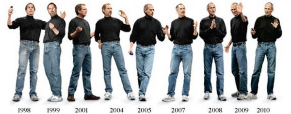 Steve Jobs Wears The Same Clothes