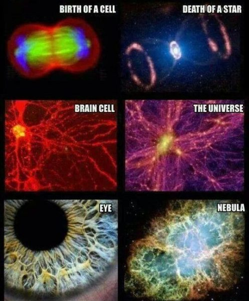 As above so below The Universe