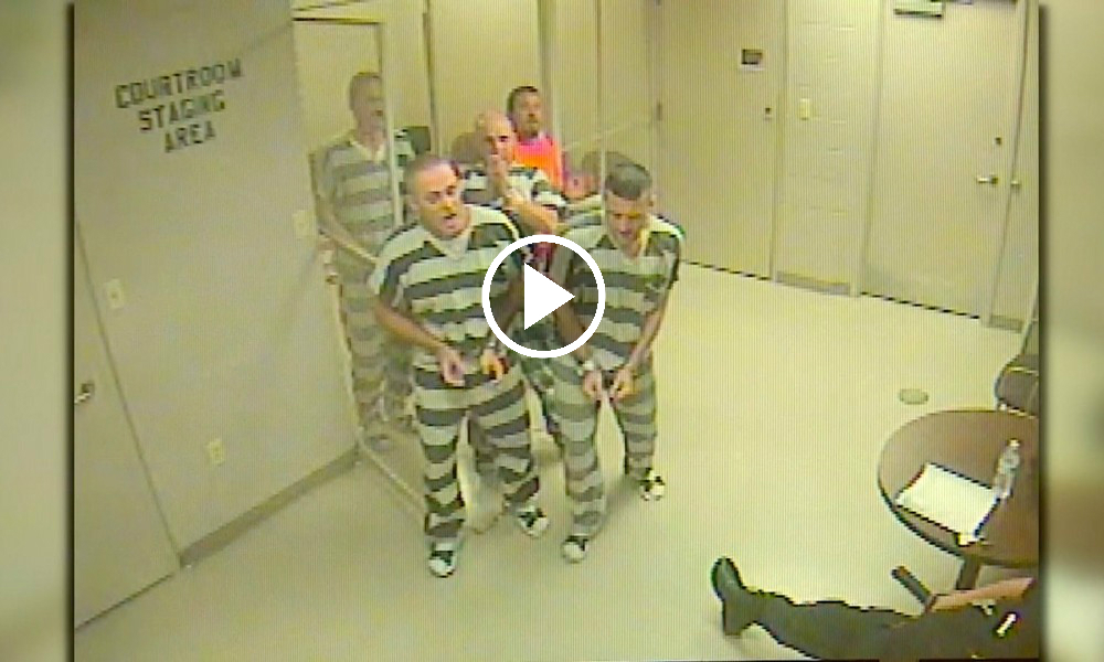 Inmates Save Guard