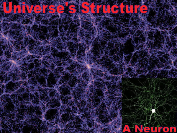 The Universe Is A Giant Brain