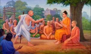 Buddha Walked Through A Village
