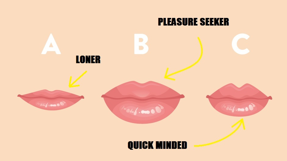 What The Shape Of Your Lips Say About Your Personality