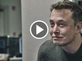 Elon Musk Watches His Rocket Land